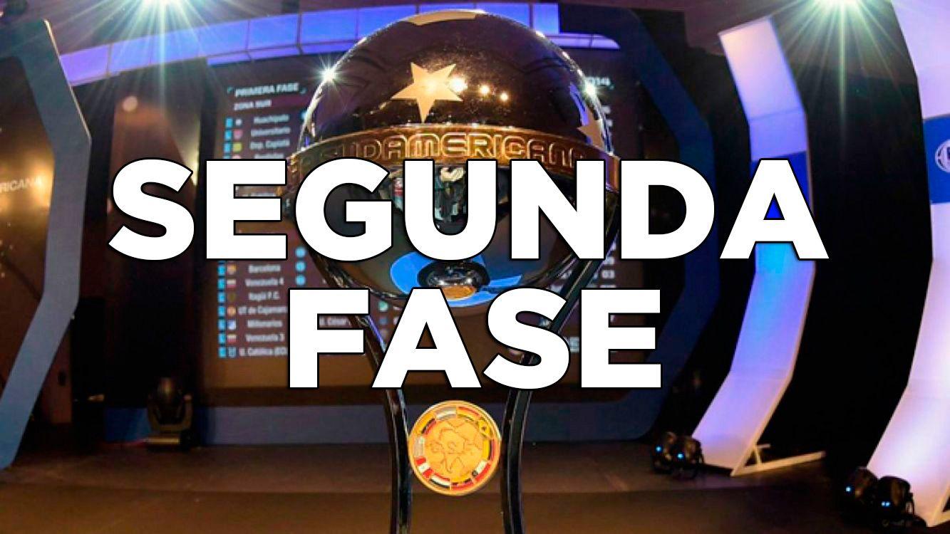 Cuadro de la segunda Fase de Copa Sudamericana 2017