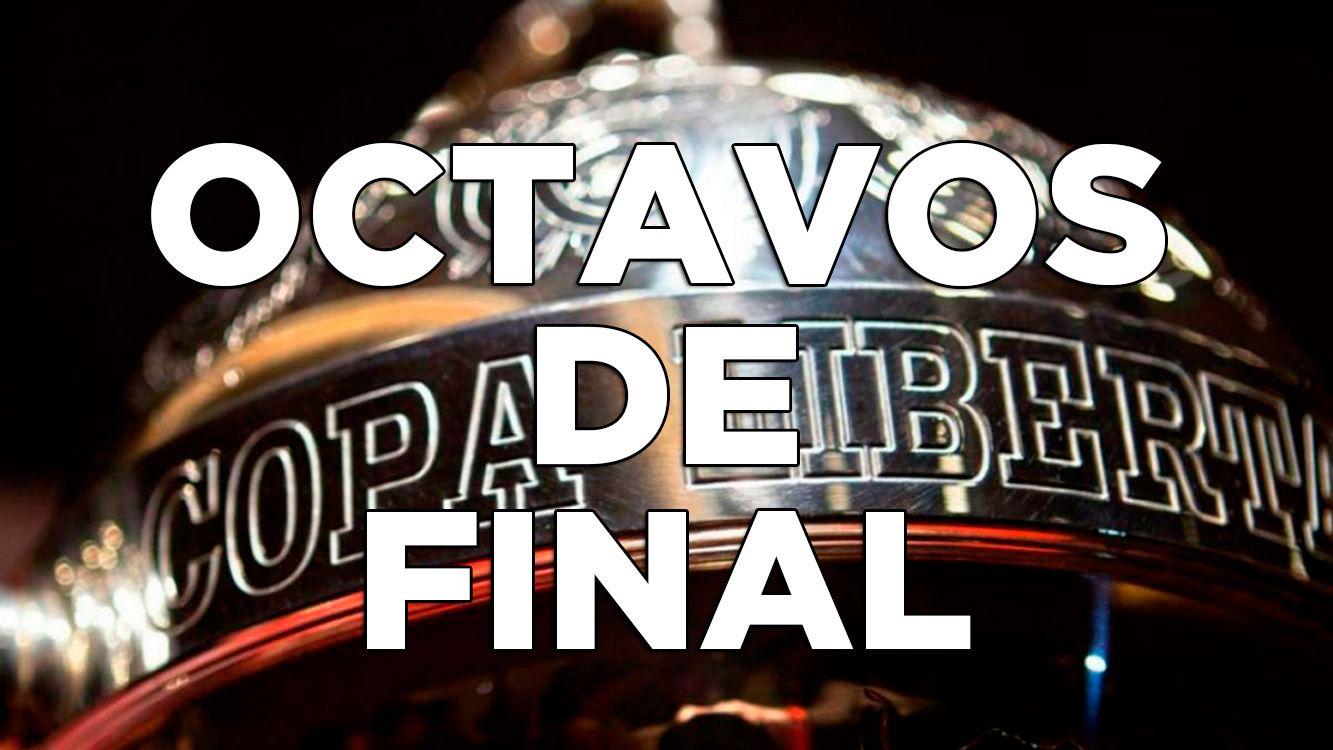 Fixture de octavos de final de la Copa Libertadores