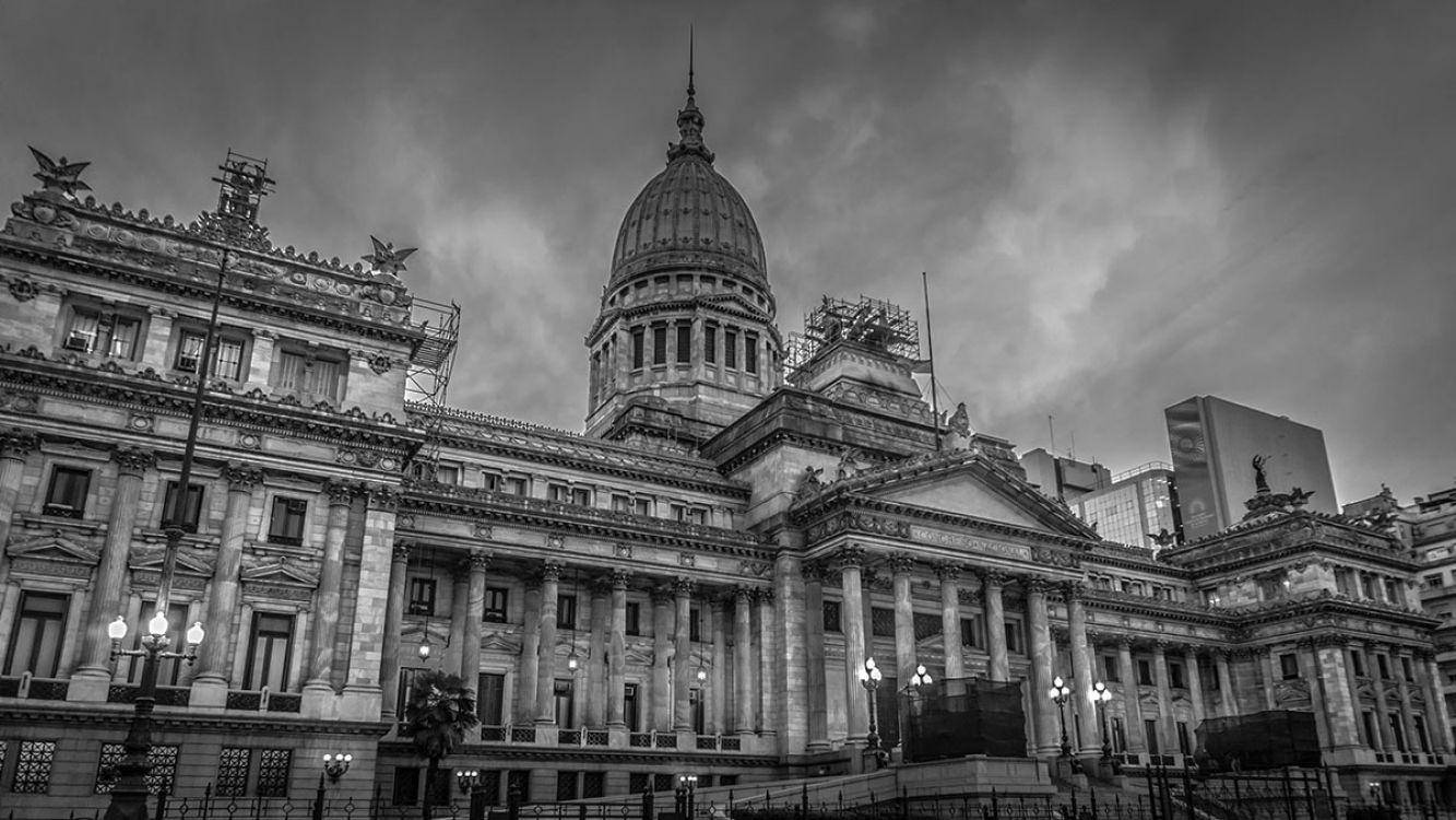 Foto del Congreso de la Nación Argentina