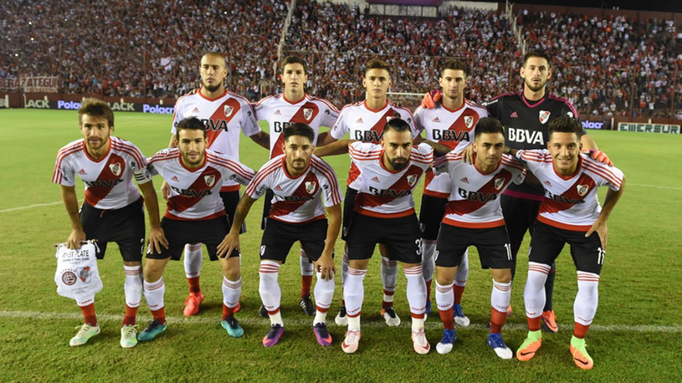 Foto equipo River Plate 2017