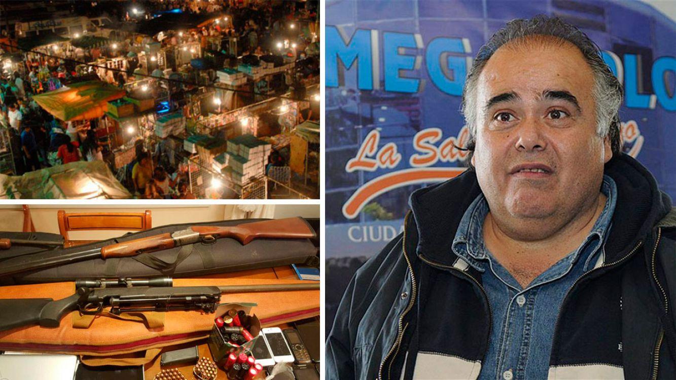 """Jorge Castillo el """"Rey de La Salada"""" detenido por extorsión a comerciantes"""