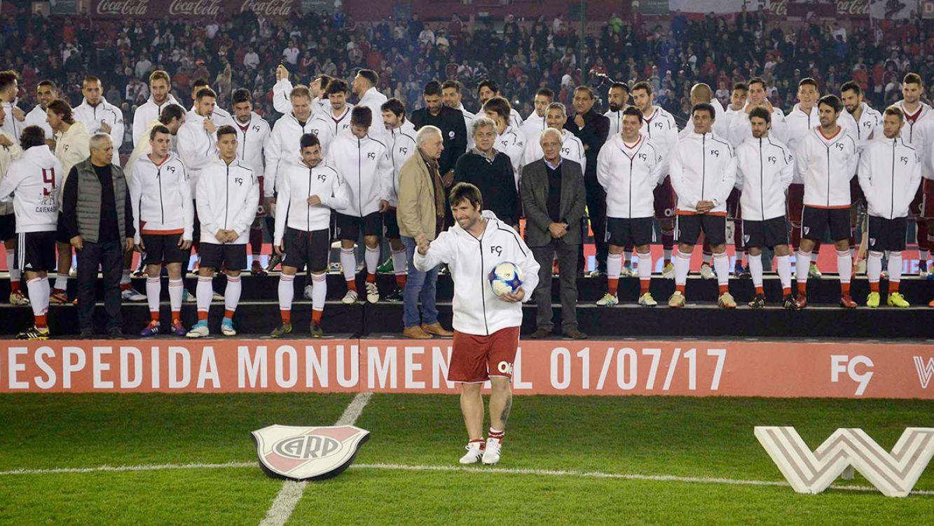 Lo mejor de la despedida de Fernando Cavenaghi en el Monumental