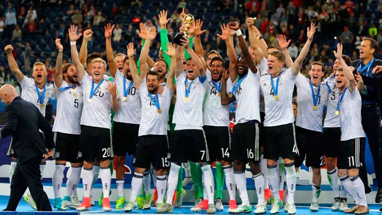 Alemania le ganó 1-0 a Chile y es campeón de la Copa Confederaciones