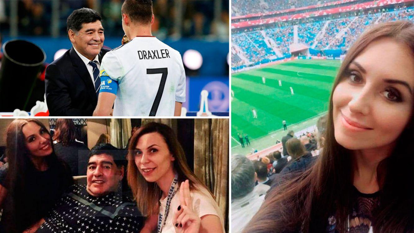 Una periodista rusa acusó a Maradona de acoso sexual