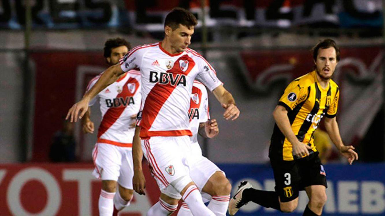 River buscará clasificar a cuartos de final de la Libertadores. Enfrenta a Guaraní por la revancha