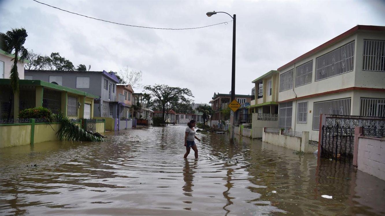 El Huracán María dejó su marca en Puerto Rico