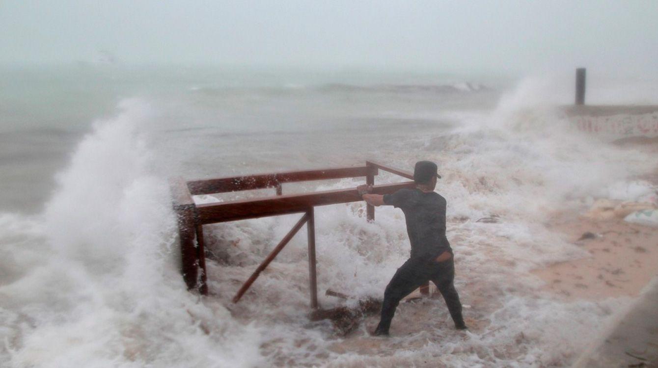 Huracán maría en Punta Cana
