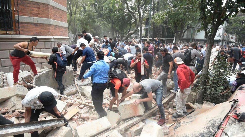Un segundo terremoto de 7.1 grados castiga a México
