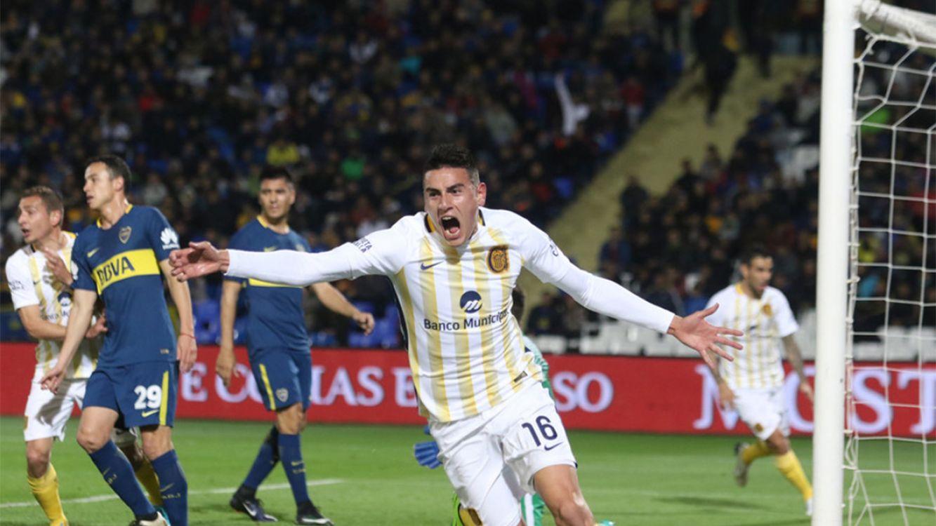 Gol de Gustavo Colman para la victoria canalla por 1 a 0