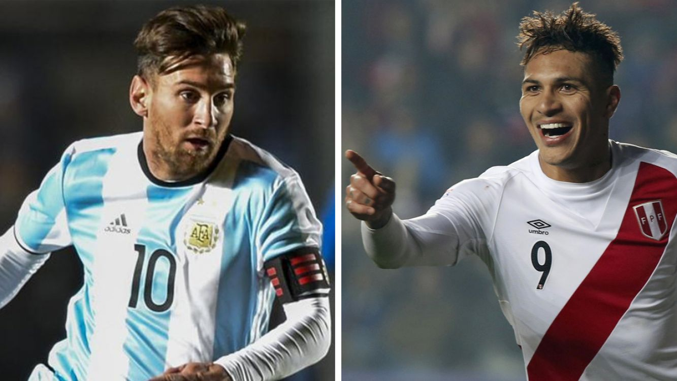 Lionel Messi / Paolo Guerrero