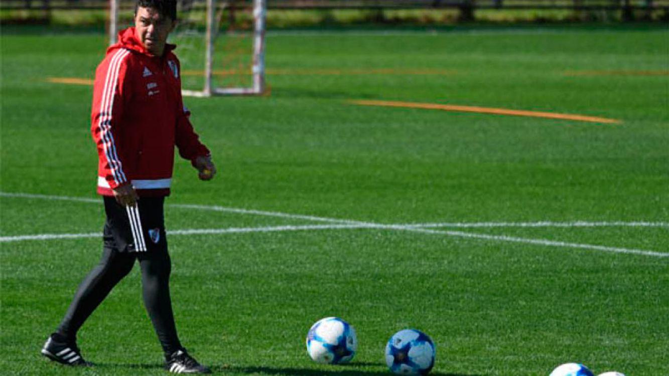 Marcelo Gallardo, DT de River Plate