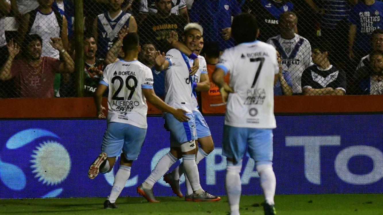 Atlético Tucumán venció a Vélez y está en semifinales