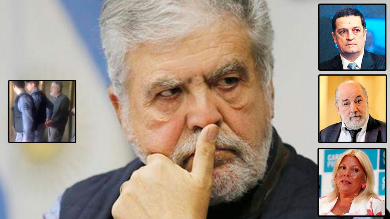 De Vido quedó detenido en el penal de Ezeiza luego de perder los fueros y negarse a declarar