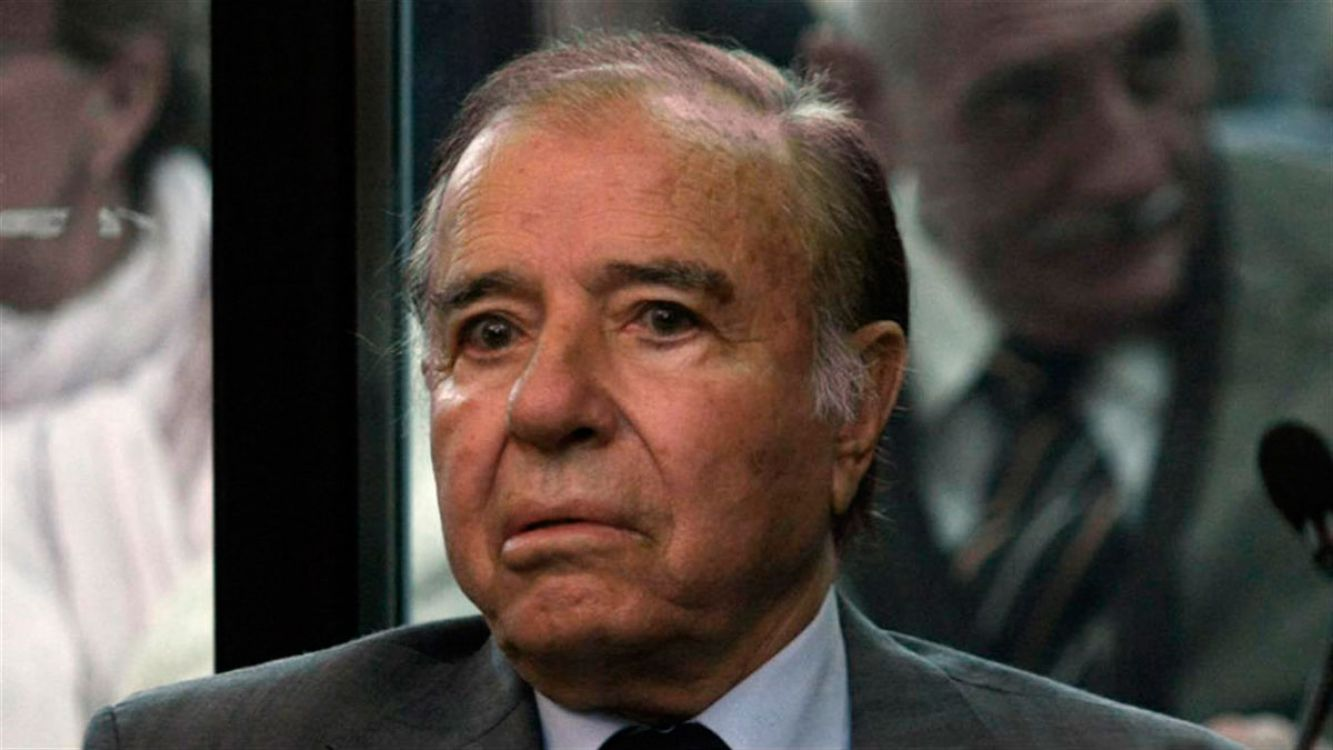 Carlos Menem a Tribunales por AMIA
