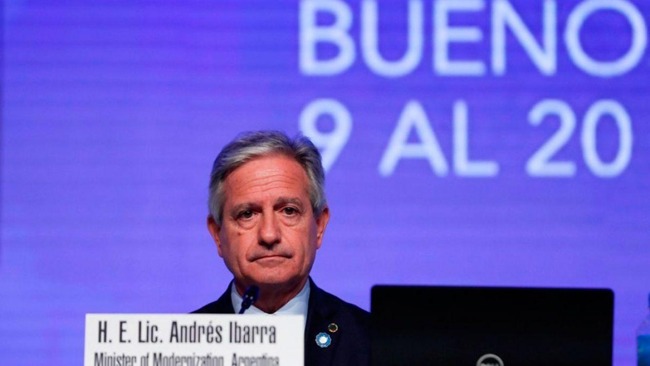 Ministro de Modernización, Andrés Ibarra