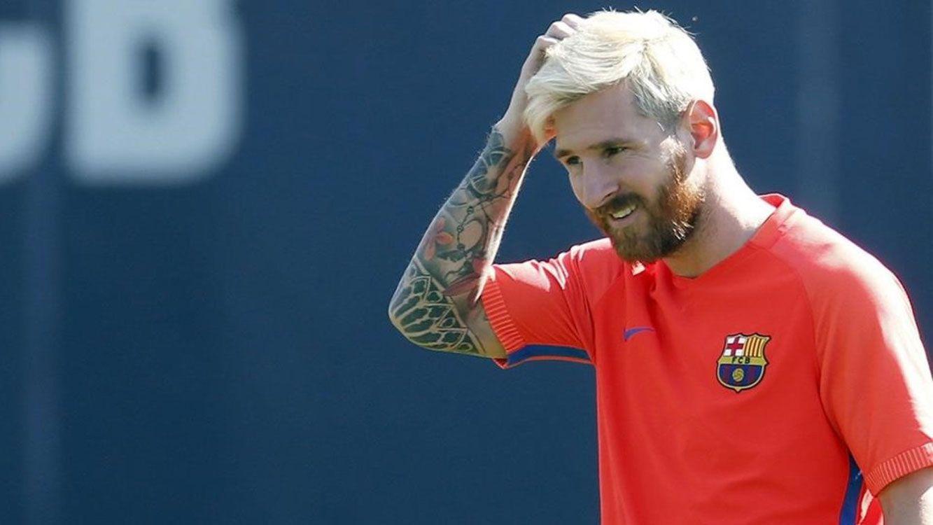 Messi seguirá hasta 2021 como jugador del Barcelona.
