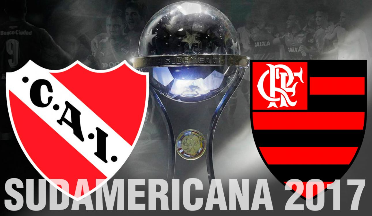 Independiente vs Flamengo van por la primer final de la Sudamericana 2017