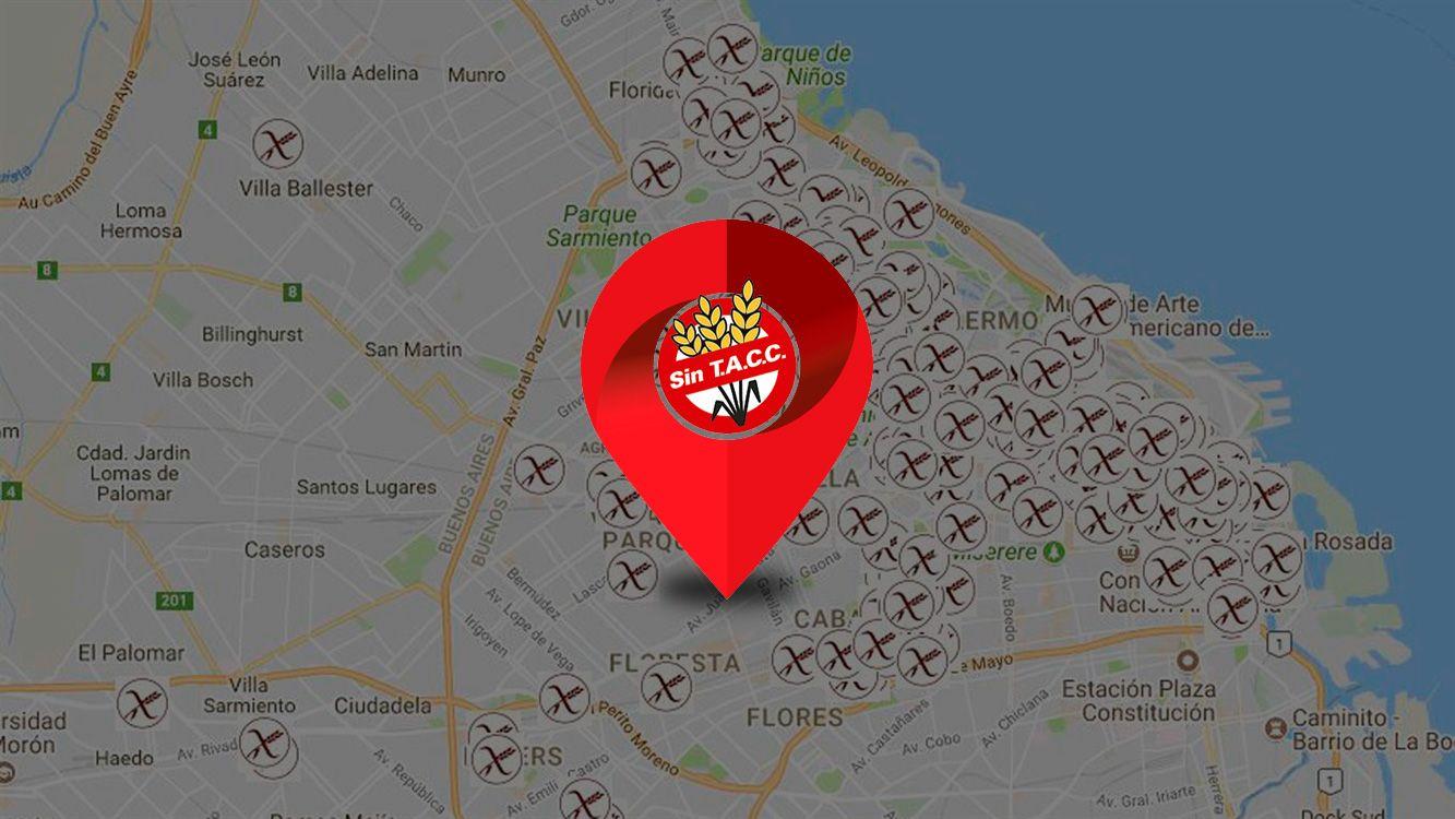 ¿Sos Celíaco? Un mapa interactivo de Argentina te muestra dónde podes comer