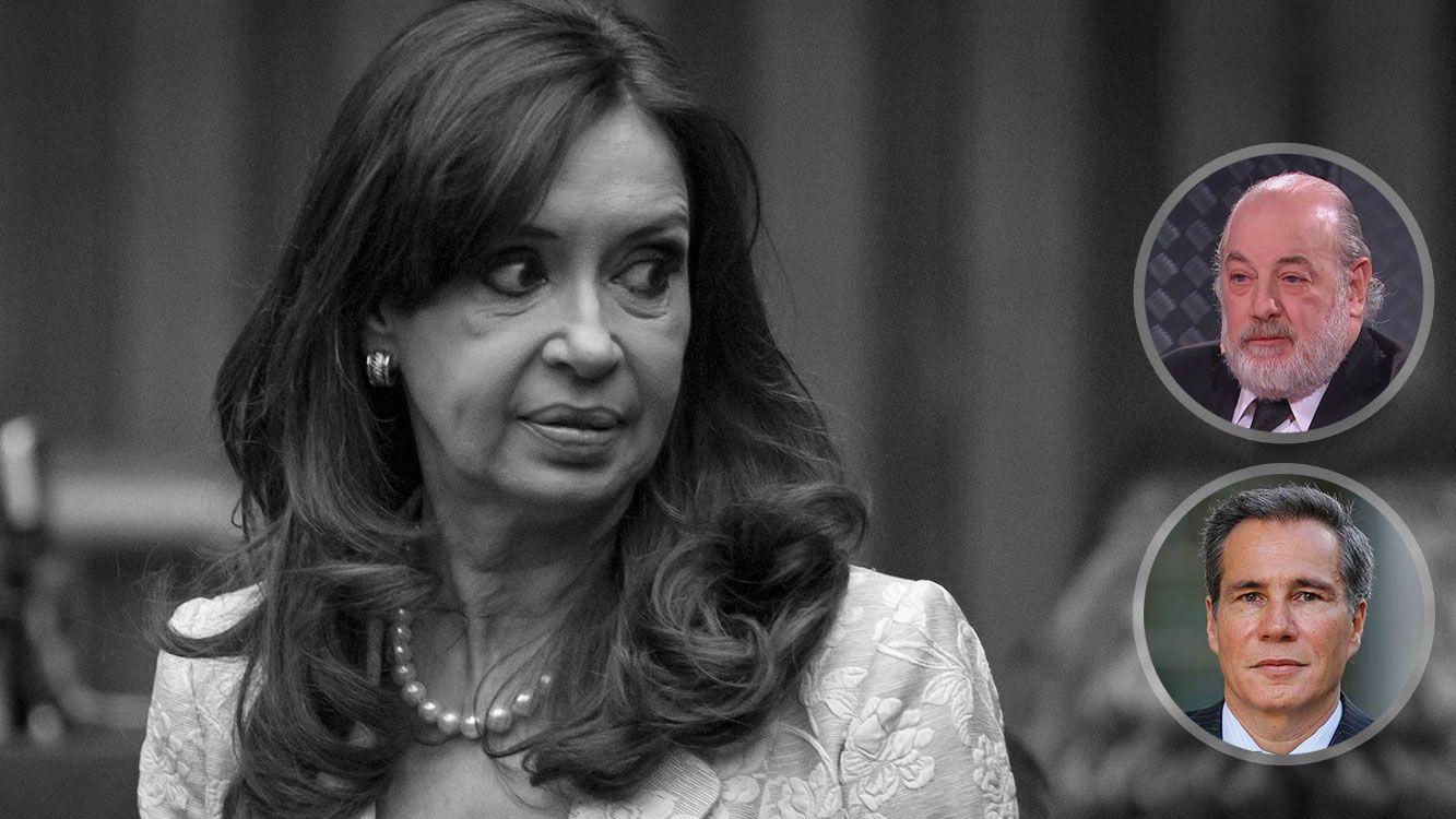 Cristina Fernández de Kirchner, Claudio Bonadío y Alberto Nisman