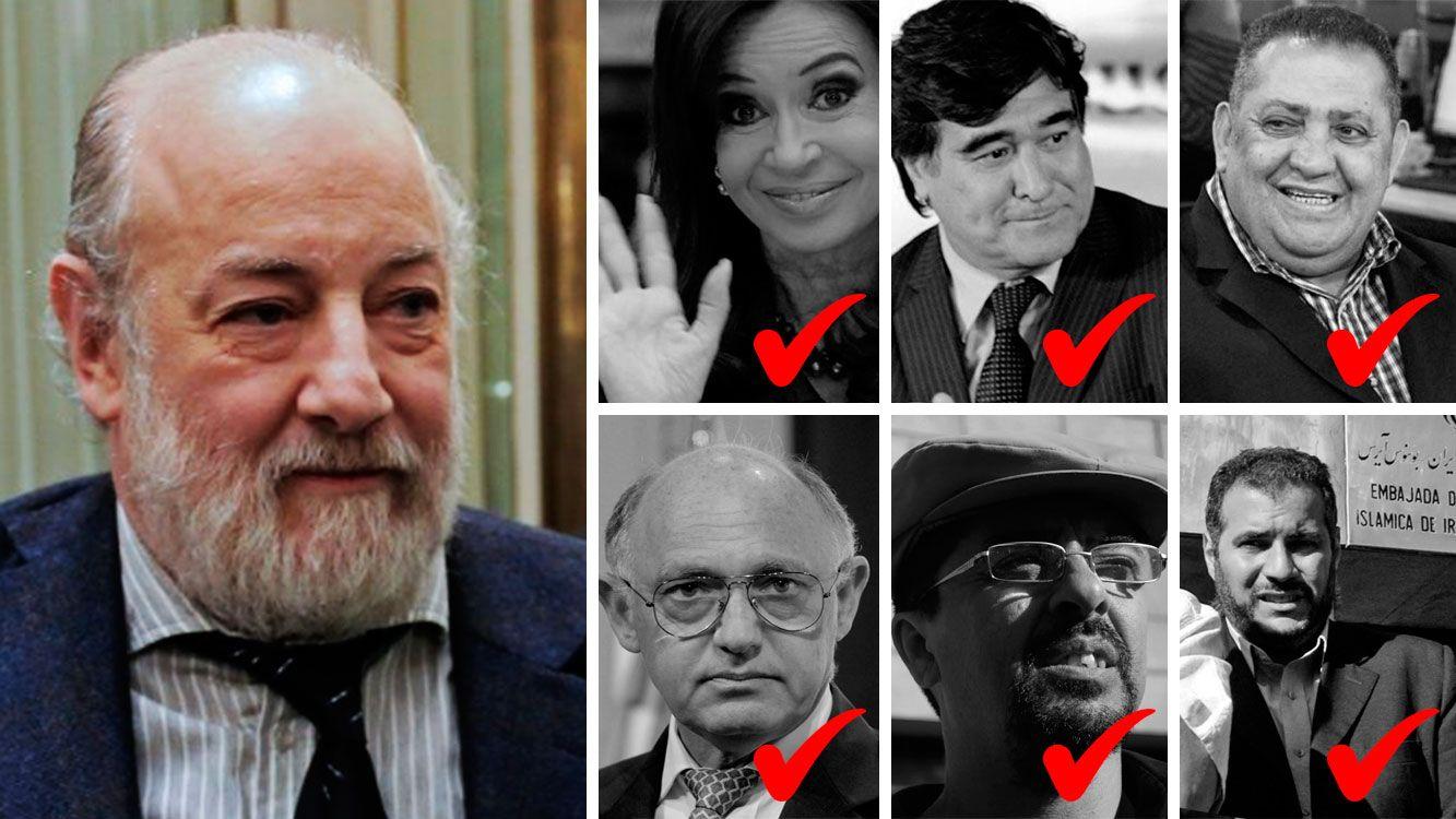 El día en que Bonadío encerró a CFK, Timerman, Zannini, Luis D'Elía y el lobbista iraní Yussuf Khalil por la causa AMIA