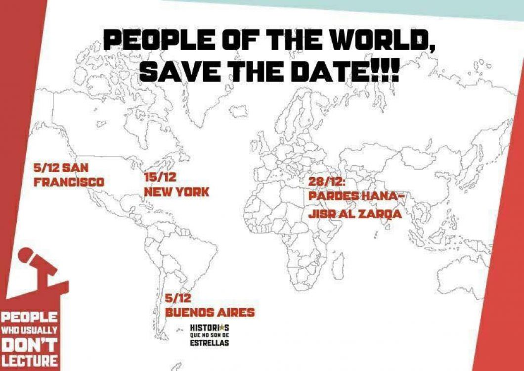 """El evento que sube a la """"gente común"""" al escenario"""
