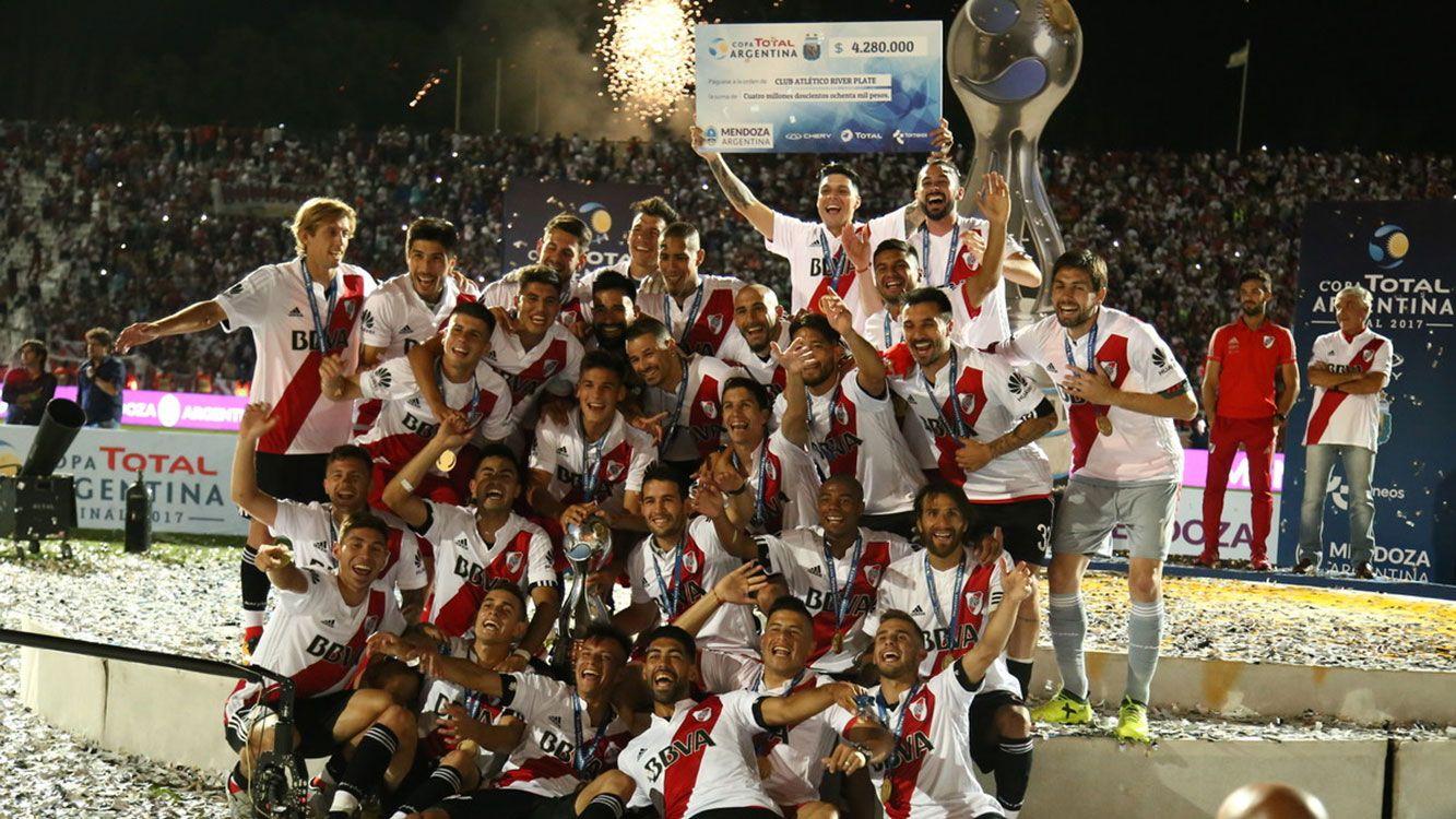 River campeón de la Copa Argentina 2017