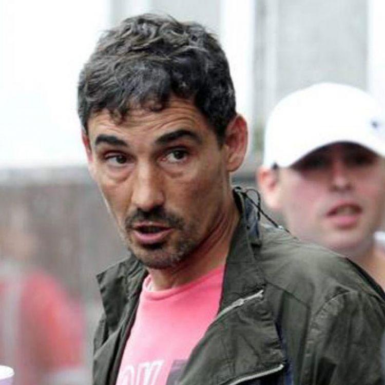 """Pablo """"Bebote"""" Alvarez es el Jefe de la Hinchada Unidas Argentina."""