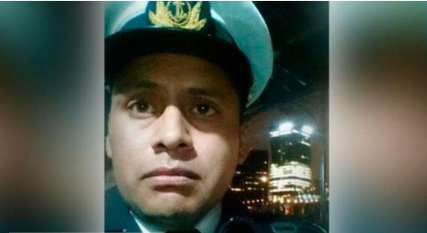 Roberto Daniel Medina, uno de los oficiales de la Armada