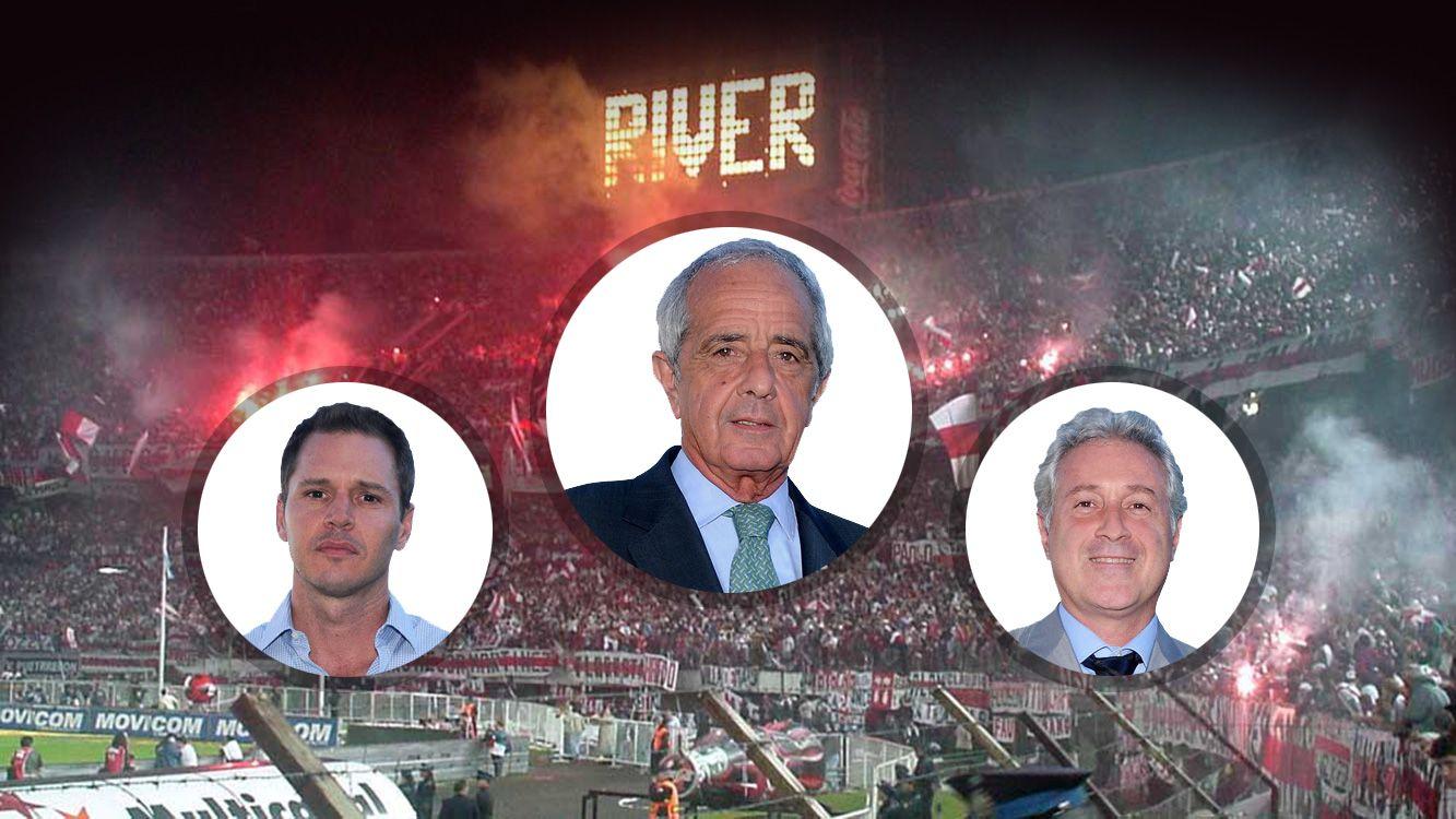Roldolfo D´Onofrio será presidente por cuatro años más de River