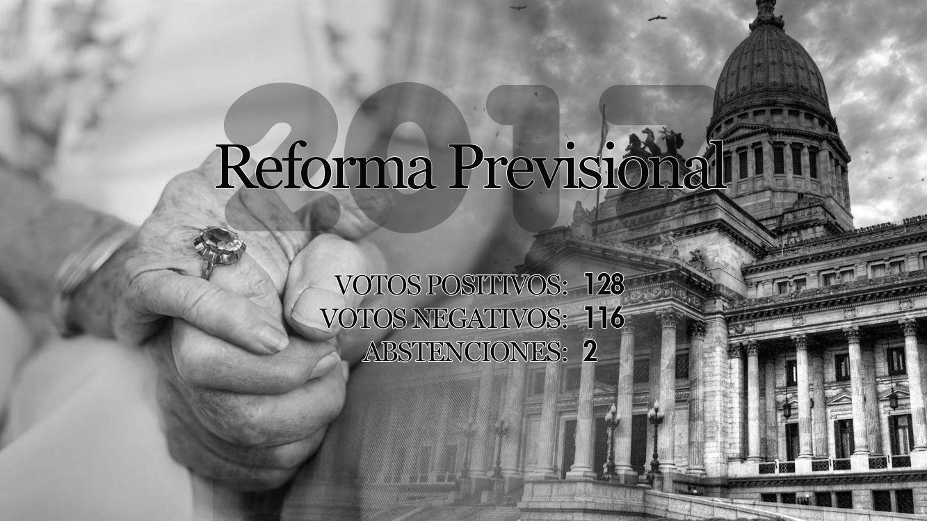 Reforma previsional: Diputados aprobó la ley