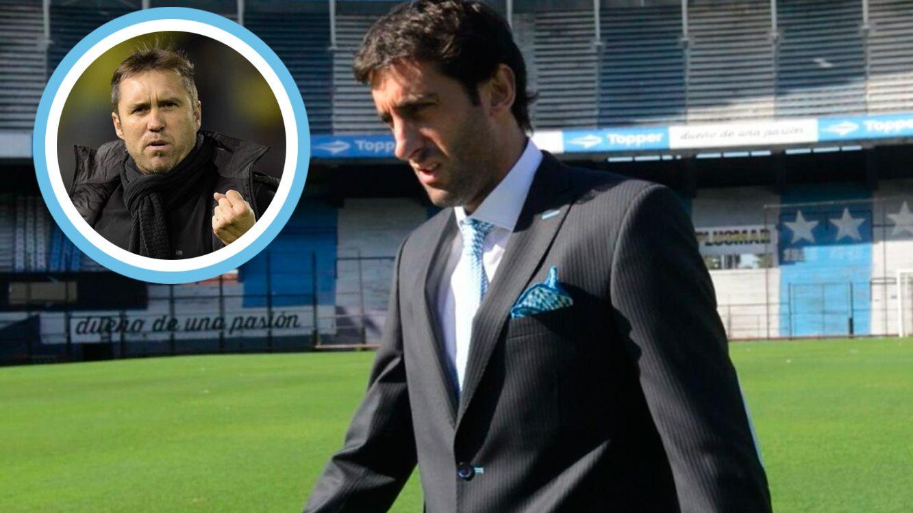 """""""Es un técnico acorde a lo que necesitamos, todos conocen como ha jugado Rosario central, yo me sentí identificado con ese equipo""""."""