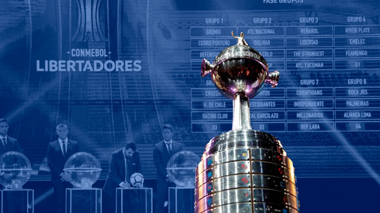 Copa Libertadores 2018: Mirá con quiénes se enfrentan los argentinos