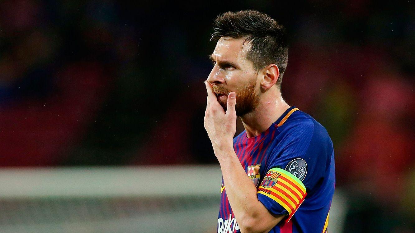 A 170 días del debut de Argentina ante Islandia por la fase de grupos, retrató lo que todos queremos: Messi deseando un 2018 con la Copa en sus manos.