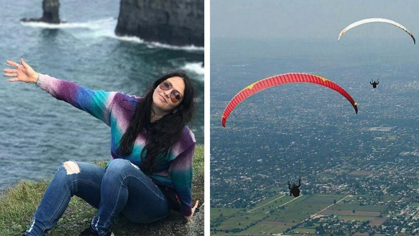 Natalia Vargas murió tras caer al vacío mientras volaba en parapente en San Javier, Tucumán