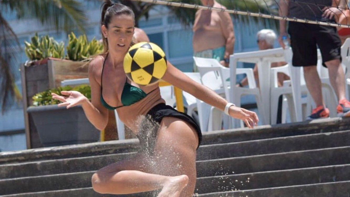 Natalia es brasilera y sus padres son argentinos, habla perfecto el español.