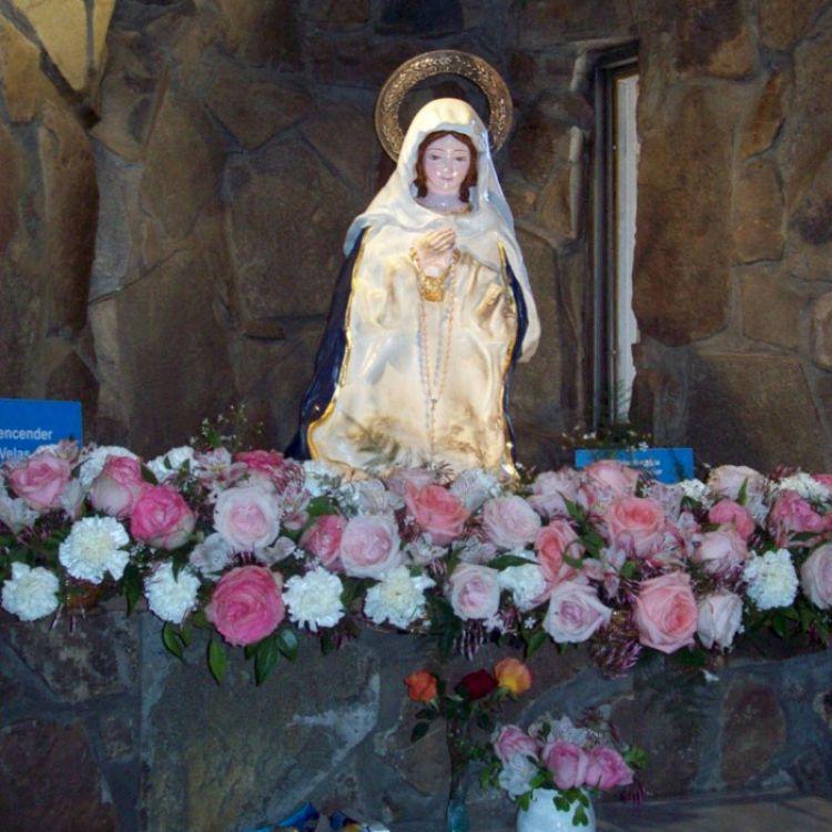 La virgen había sido donada hace 2 años a la Catedral de Río Cuarto, en Córdoba. Aseguran que derrama lágrimas.