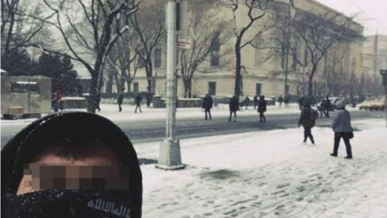 """""""Estamos en tu casa"""" : La terrorífica selfie del ISIS en pleno de centro de Nueva York"""