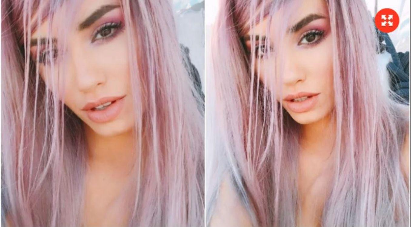 El radical cambio de look de Lali Espósito: ¡ahora lo tiene rosa!