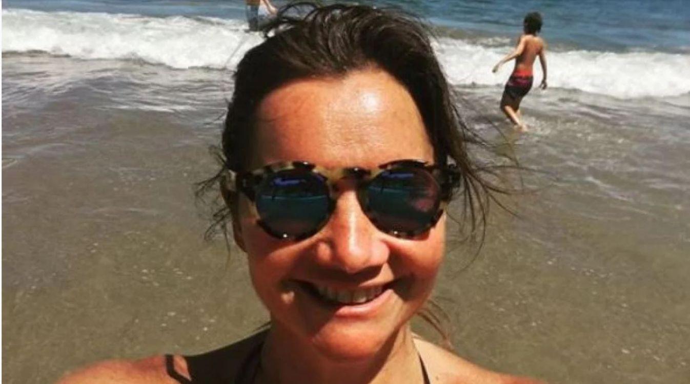Nancy Pazos se mostró en bikini sin filtros