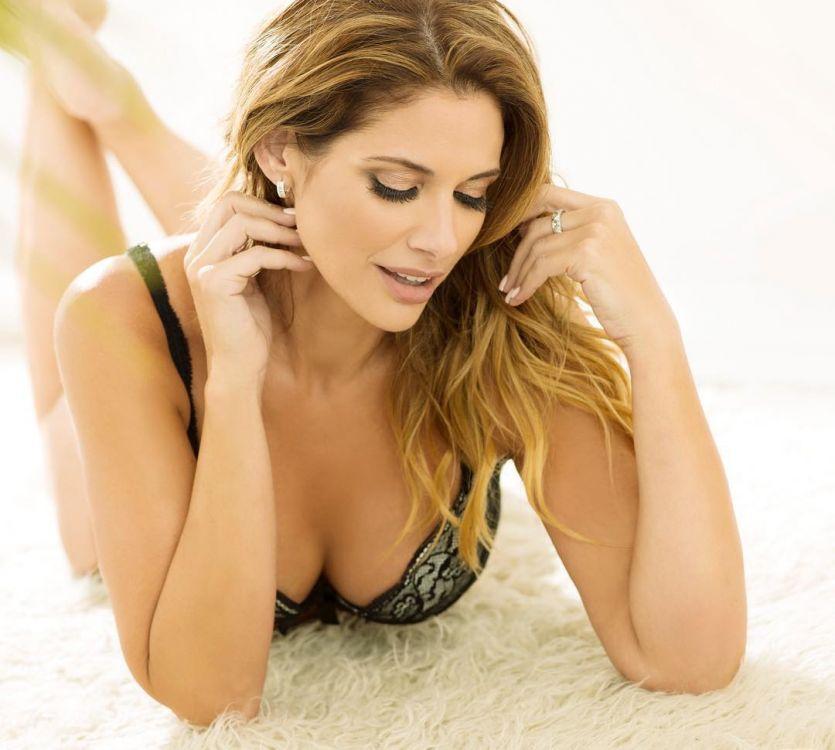Alessandra Rampolla sorprendió con una producción en ropa interior