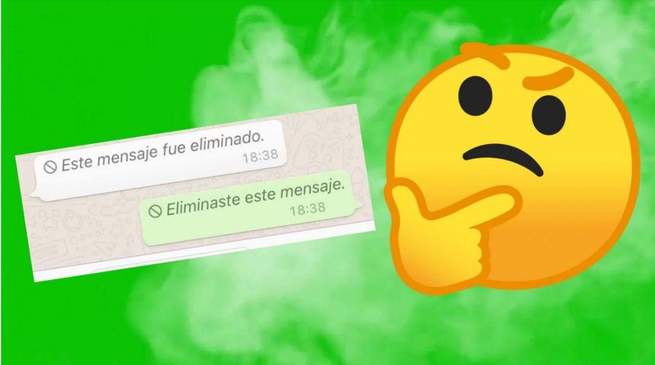 WhatsApp: ¿querés saber qué decía ese mensaje que borraron?