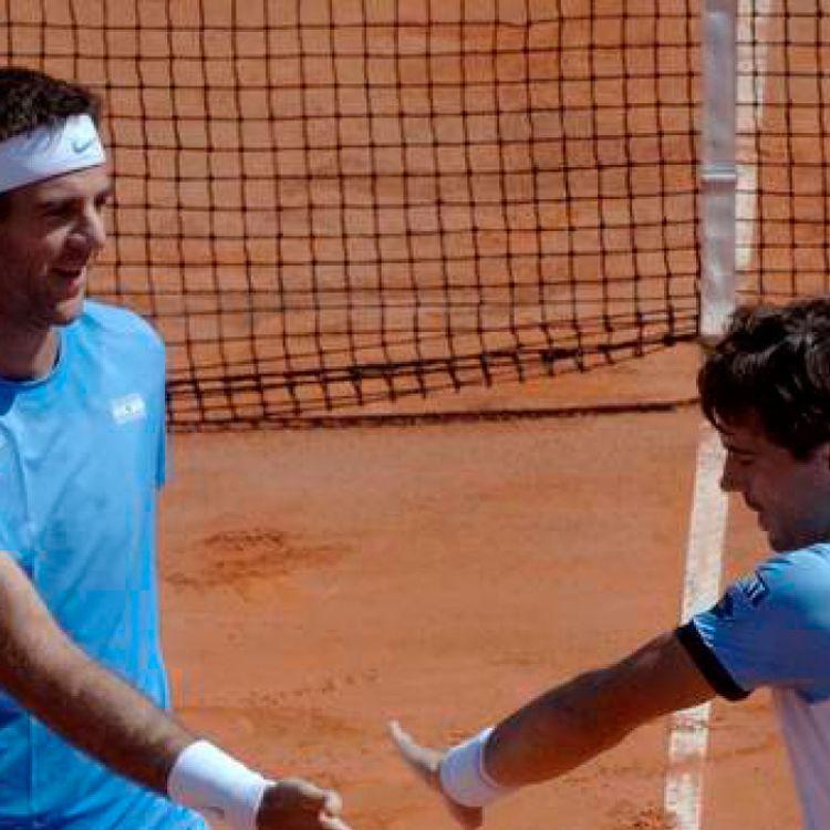 Argentina consigue ventaja en la serie con Italia al ganar en dobles Del Potro y Pella