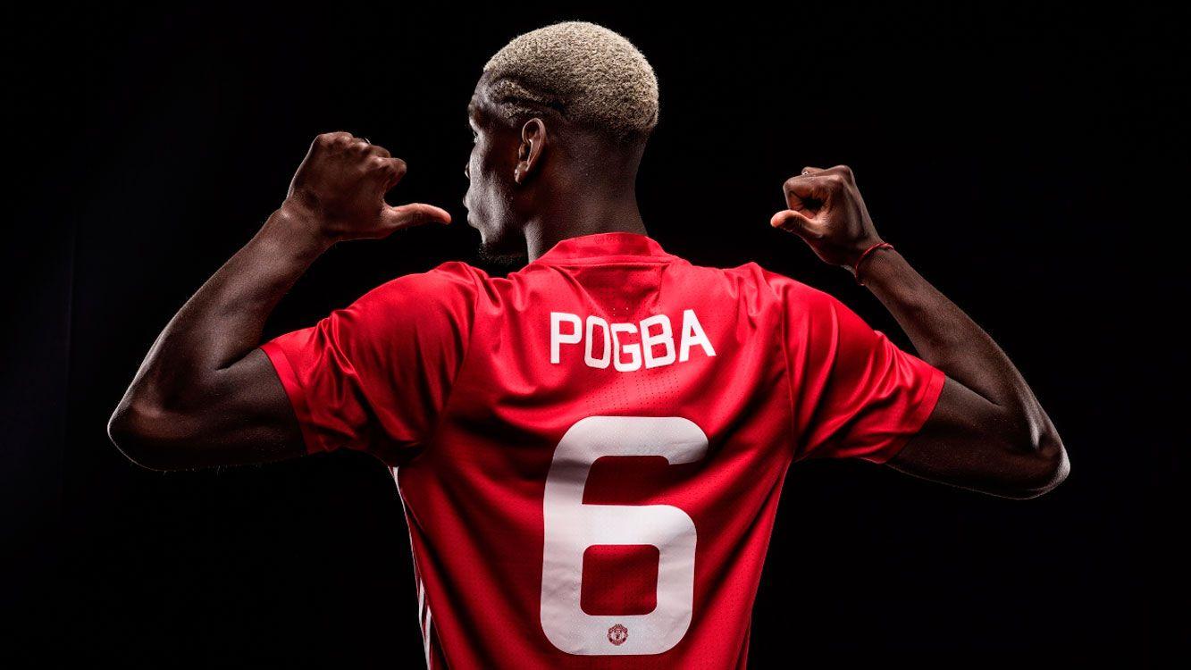Pogba actualmente se encuentra jugando en el Manchester United, y se lo verá representando a Francia en el Mundial de Rusia 2018.