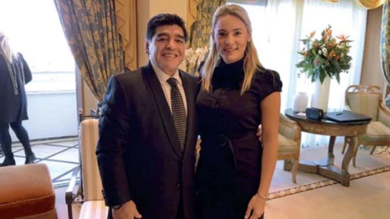 La lujosa celebración de Diego Maradona y Rocío Oliva en su quinto aniversario