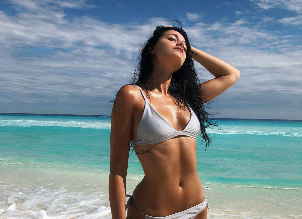 La foto más provocativa de Oriana Sabatini en la playa
