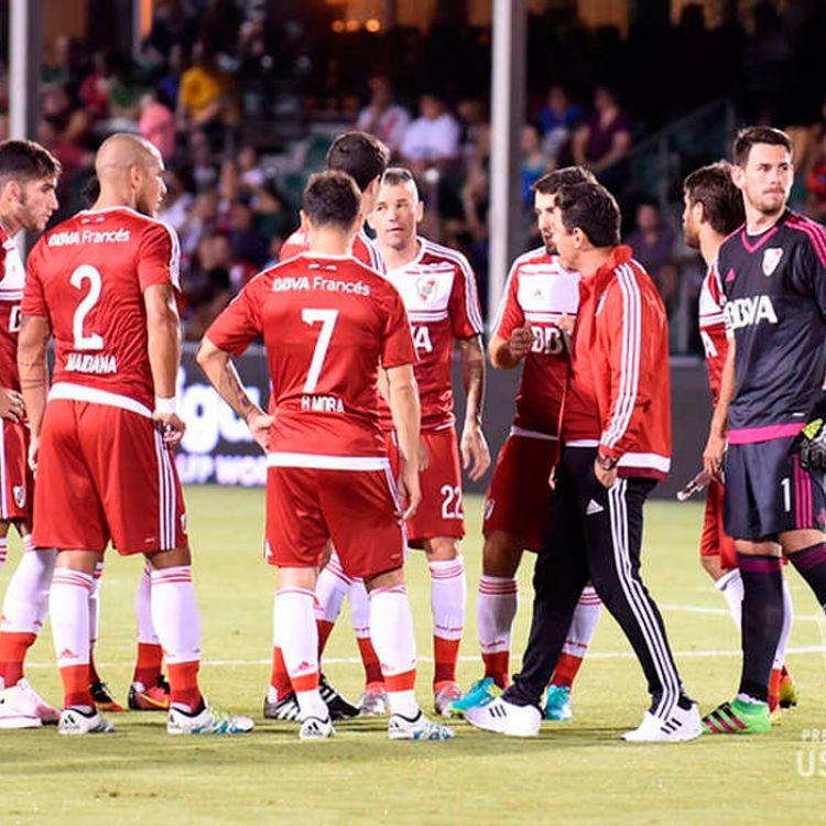 River perdió frente a Sevilla en el último amistoso de la pretemporada