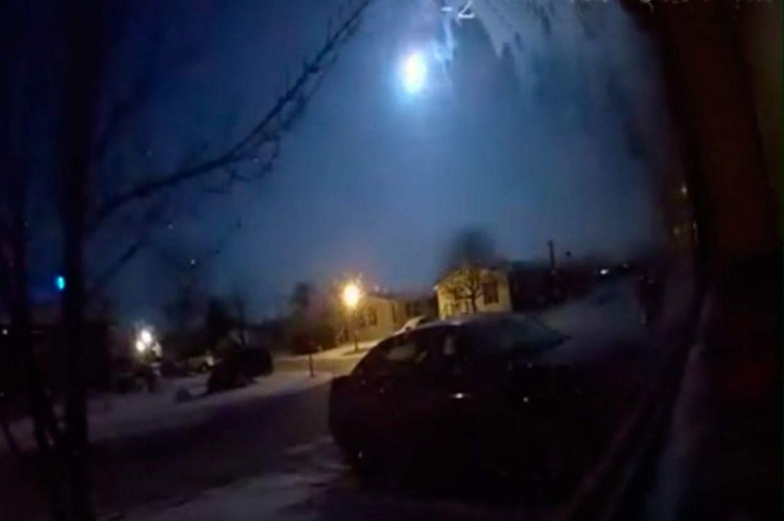 Cayó un meteorito y produjo un temblor. Video