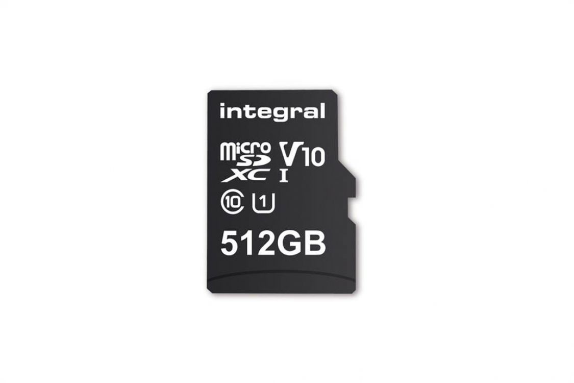 512 GB: presentaron la tarjeta microSD de mayor capacidad disponible hasta ahora