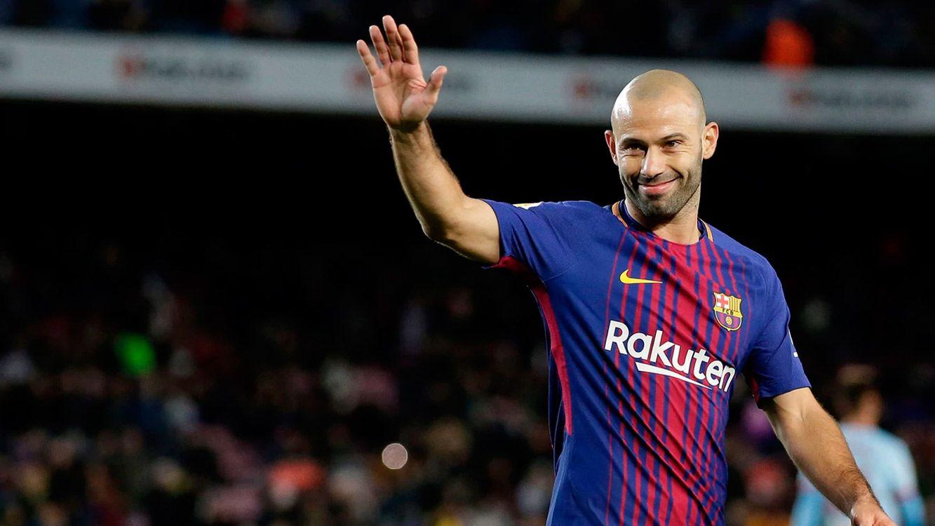 Mascherano ya tiene su fecha de despedida de parte del Barcelona