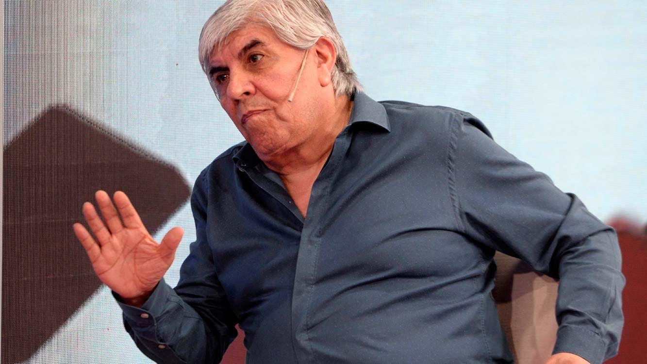 """""""Por respeto a los familiares de la tragedia de Once, la movilización será el 21 de febrero"""", dijo Pablo Moyano."""